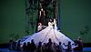 Snow White <br /> Ballet Lorent at Sadlers Wells, London, Great Britain <br /> 25th March 2016 <br /> Rehearsal <br /> <br /> artistic director Viv Lorent MBE <br /> <br /> <br /> Natalie Trewinnard as Snow White <br /> Gavin Coward as Huntsman <br /> <br /> Photograph by Elliott Franks <br /> Image licensed to Elliott Franks Photography Services