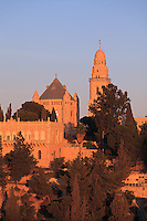 The Dormition Abbey on Jerusalem's Mount Zion.