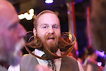 "Justin Kellermeier, from Dayton, Ohio, sports the ""Gentlemen's beard"" at Cosmic Charlie's nightclub during the Whiskey, Whiskers and Women event in Lexington, Ky. Jan. 31, 2012. Photo by Brandon Goodwin 