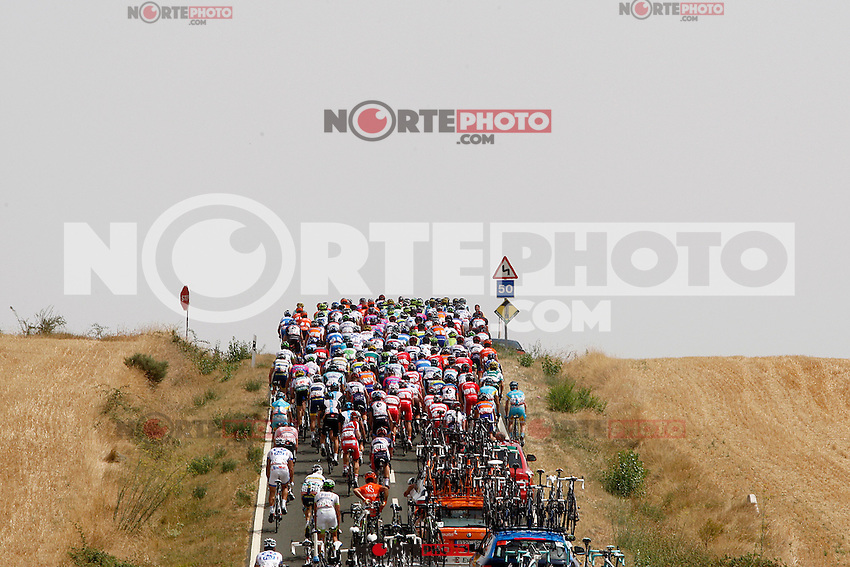 The group during the stage of La Vuelta 2012 between Faustino V and Eibar (Arrate).August 20,2012. (ALTERPHOTOS/Paola Otero) /NortePhoto.com<br />