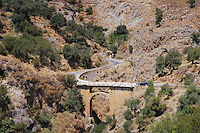 Old stone bridge near Rodakino, Crete, Greece