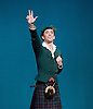 The Royal Danish Ballet soloists &amp; principals <br /> Bournoville Celebration <br /> at The Peacock Theatre, London, Great Britain <br /> press photocall<br /> 9th January 2015 <br /> <br /> La Sylphide <br /> <br /> <br /> Ulrik Birkkjaer as James<br /> <br /> <br /> Photograph by Elliott Franks <br /> Image licensed to Elliott Franks Photography Services