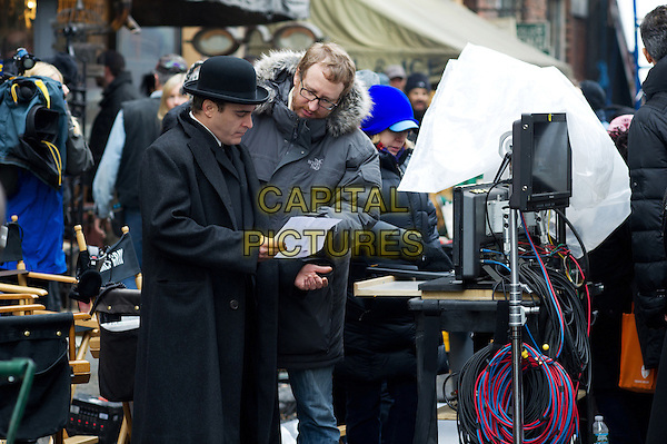 Joaquin Phoenix, James Gray (Director)<br /> on the set of The Immigrant (2013) <br /> *Filmstill - Editorial Use Only*<br /> CAP/FB<br /> Image supplied by Capital Pictures