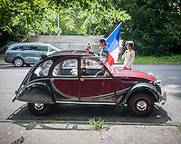 Bastille Day with the Citroens
