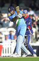 09/07/2002 - Tue.Sport - Cricket-  NatWest Series - Eng vs India Oval.India batting - Vangipurappu Laxman
