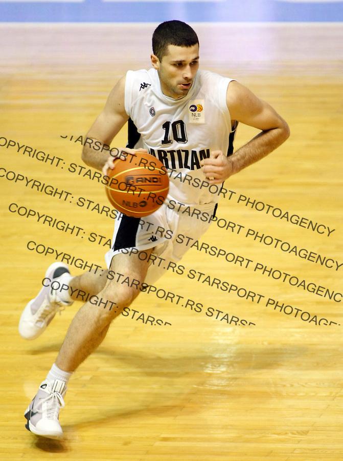 Kosarka, NLB league, season 2007/08.Partizan Vs. Crvena Zvezda.Aleksandar Rasic.Beograd, 16.11.2008..foto: Srdjan Stevanovic/Starsportphoto.com ©