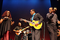 Emeline Michel at Celebrate Haiti Concert held at The Schomburg Center in Harlem, New York