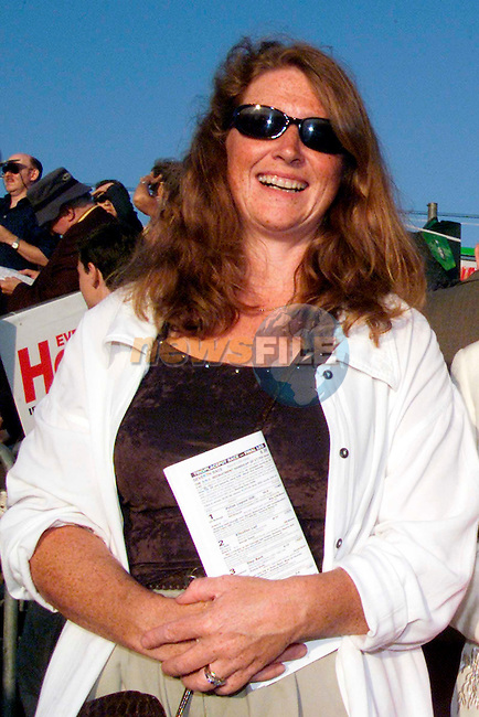 Sandra Hatton at the Bellewstown Races on Thursday..Picture: Paul Mohan/Newsfile