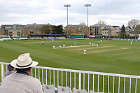 General view of play during Essex CCC vs Lancashire CCC, Specsavers County Championship Division 1 Cricket at The Cloudfm County Ground on 10th April 2017