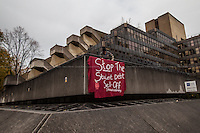"20.11.2013 - SOAS: ""Stop the Sell Off of Student Debt"""