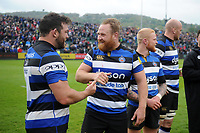 Ross Batty of Bath Rugby. Aviva Premiership match, between Bath Rugby and Gloucester Rugby on April 30, 2017 at the Recreation Ground in Bath, England. Photo by: Patrick Khachfe / Onside Images