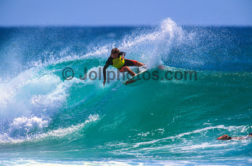 "Jason 'China"" O'Conner (AUS) surfing D-Bah circa 1993. Photo: joliphotos.com"