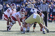 Annapolis, MD - December 3, 2016: Temple Owls quarterback Phillip Walker (8) calls a play during game between Temple and Navy at  Navy-Marine Corps Memorial Stadium in Annapolis, MD.   (Photo by Elliott Brown/Media Images International)