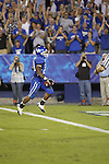 Running back Derrick Locke runs for a touchdown during the second half of UK's home game against Akron, Saturday, September 17, 2010.  Photo by Brandon Goodwin | Staff
