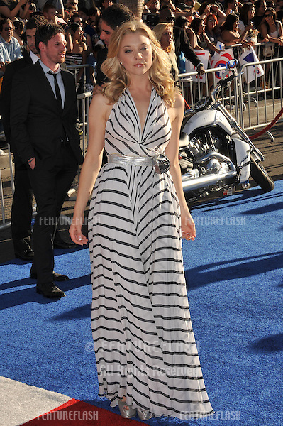 """British actress Natalie Dormer at the premiere of her new movie """"Captain America: The First Avenger"""" at the El Capitan Theatre, Hollywood..July 19, 2011  Los Angeles, CA.Picture: Paul Smith / Featureflash"""