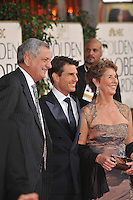 Tom Cruise & parents at the 66th Annual Golden Globe Awards at the Beverly Hilton Hotel..January 11, 2009 Beverly Hills, CA.Picture: Paul Smith / Featureflash