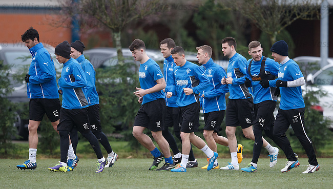 Rangers training