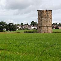 19th. Century Folly (Octagonal Tower), by George Head Head.  Rickerby, near Carlisle, England, UK.
