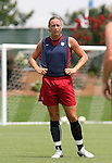29 July 2006: Abby Wambach (USA). The United States Women's National Team trained at SAS Stadium in Cary, North Carolina, in preparation for an International Friendly match against Canada to be played on Sunday, July 30.