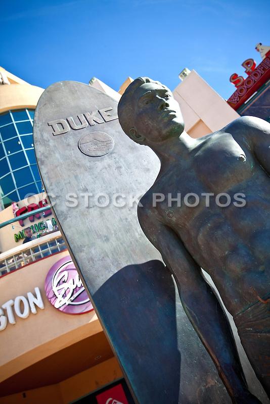 Kahanamoku Statue Huntington Beach