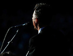 Lyle Lovett & His Large Band play to huge crowd at the Hardy Strickly Bluegrass Festival in Golden Gate Park, San Francisco, California.