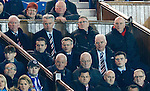 Walter Smith and Archie Knox sitting with the Rangers directors
