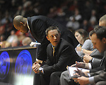 "Ole MIss assistant coach Michael White at the C.M. ""Tad"" Smith Coliseum in Oxford, Miss. on Wednesday, November 17, 2010."