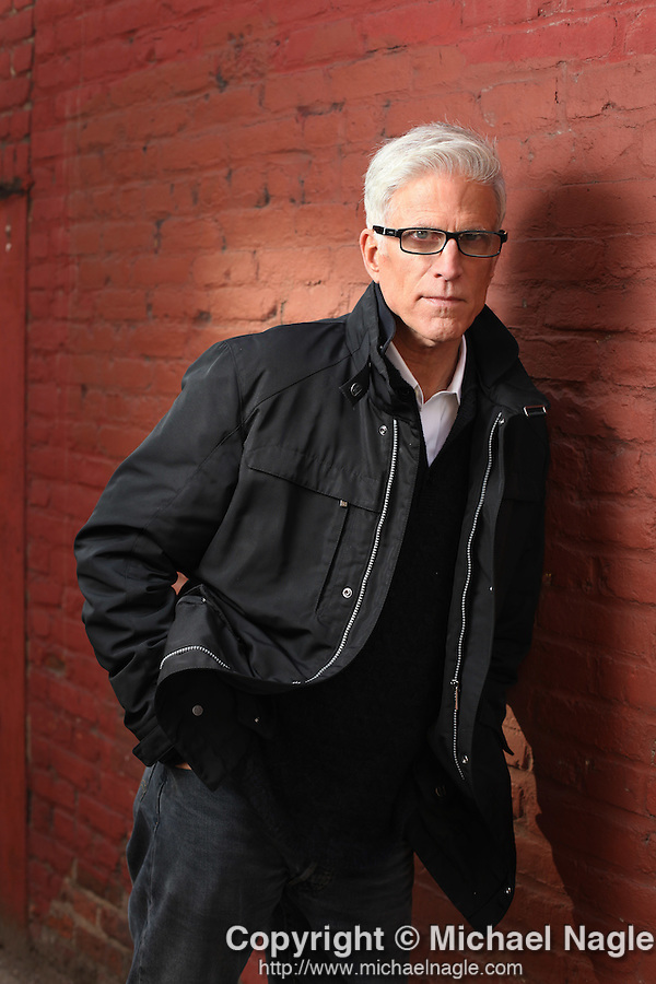 BROOKLYN - MARCH 10, 2010:   Actor Ted Danson poses for a portrait in Dumbo on March 10, 2010 Brooklyn.  (Photo by Michael Nagle)