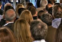 Heads in a Crowd, Male, Female High dynamic range imaging (HDRI or HDR)