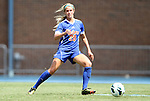 26 August 2012: Florida's Christen Westphal. The University of Florida Gators defeated the Duke University Blue Devils 3-2 in overtime at Fetzer Field in Chapel Hill, North Carolina in a 2012 NCAA Division I Women's Soccer game.