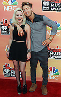 LOS ANGELES, CA, USA - MAY 01: Bea Miller, Beatrice Miller, Drew Chadwick at the iHeartRadio Music Awards 2014 held at The Shrine Auditorium on May 1, 2014 in Los Angeles, California, United States. (Photo by Celebrity Monitor)