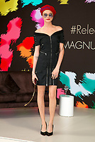 Model Cara Delevigne presents her participation of Magnum X Maschino during the 70th Annual Cannes Film Festival at Plage l'Ondine in Cannes, France, on 18 May 2017. - NO WIRE SERVICE · Photo: Hubert Boesl/dpa /MediaPunch ***FOR USA ONLY***