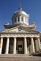 Bonsecours Market or Marche Bonsecour in Old Montreal, Quebec, Canada