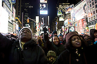 Prayer Vigil For Haiti In Times Square