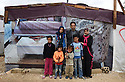 THE 'MERCY'  REFUGEE CAMP, LEBANESE/SYRIAN BORDER..