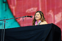 LONDON, ENGLAND - JULY 3: Louise Goffin performing at British Summertime, Hyde Park on July 3, 2016 in London, England.<br /> CAP/MAR<br /> &copy;MAR/Capital Pictures /MediaPunch ***NORTH AND SOUTH AMERICAS ONLY***