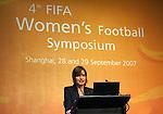 Fussball FIFA Frauen WM 2007 in China