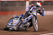Heat 14: Piotr Swiderski of Lakeside - Lakeside Hammers vs Wolverhampton Wolves - Elite League Speedway at Arena Essex Raceway - 16/05/11 - MANDATORY CREDIT: Gavin Ellis/TGSPHOTO - Self billing applies where appropriate - Tel: 0845 094 6026