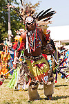 Indian Nation Pow Wow at Day Break Cultural Center in Discovery Park with dancers