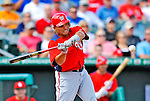 3 March 2011: Washington Nationals' catcher Ivan Rodriguez at bat during a Spring Training game against the St. Louis Cardinals at Roger Dean Stadium in Jupiter, Florida. The Cardinals defeated the Nationals 7-5 in Grapefruit League action. Mandatory Credit: Ed Wolfstein Photo
