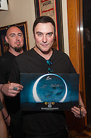 LAS VEGAS, NV - August 18, 2016: ***HOUSE COVERAGE*** Breaking Benjamin pictured as they are honored with a memorabilia Case Display at Hard Rock Hotel & Casino in Las vegas, NV on August 18, 2016. Credit: GDP Photos/ MediaPunch
