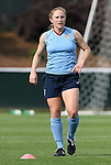 25 April 2008: Rachel Buehler. The United States Women's National Team held a training session in WakeMed Stadium, formerly SAS Stadium, in Cary, NC.