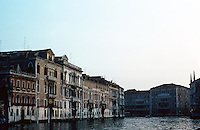 Venice: #7. Grand Canal in evening light.  Photo '83.