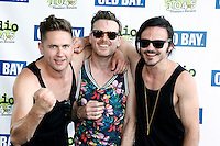 PHILADELPHIA, PA - JULY 10 :  The Wild Wild pictured backstage at Radio 104.5 Summer Block Party at Festival Peir in Philadelphia, Pa on July 10, 2016  photo credit Star Shooter/MediaPunch