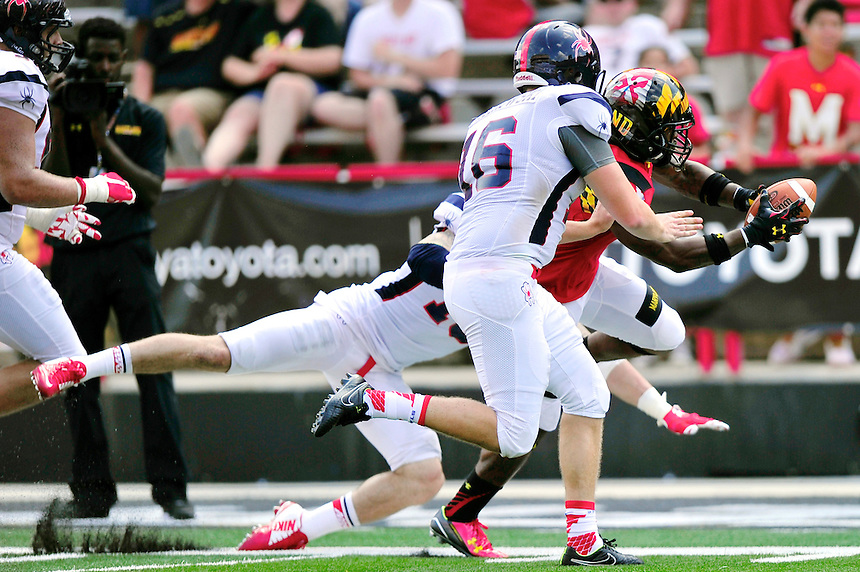 Maryland Terrapins vs. Richmond Spider - NCAA Football, September 5, 2015