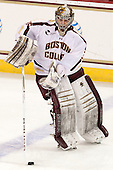 Parker Milner (BC - 35) - The Boston College Eagles and University of New Hampshire Wildcats tied 4-4 on Sunday, February 17, 2013, at Kelley Rink in Conte Forum in Chestnut Hill, Massachusetts.