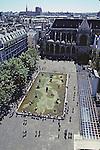 Pool Near George Pompidou Center