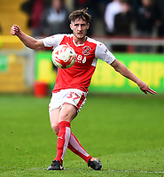 Fleetwood Town&rsquo;s Ben Davies in action<br /> <br /> Photographer Richard Martin-Roberts/CameraSport<br /> <br /> The EFL Sky Bet League One - Fleetwood Town v Millwall - Monday 17th April 2017 - Highbury Stadium - Fleetwood<br /> <br /> World Copyright &copy; 2017 CameraSport. All rights reserved. 43 Linden Ave. Countesthorpe. Leicester. England. LE8 5PG - Tel: +44 (0) 116 277 4147 - admin@camerasport.com - www.camerasport.com