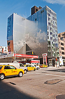 Taxi, 245 Tenth Avenue  building by Della Valle Bernheimer, Chelsea, New York City, New York