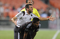 D.C. United Head Coach Ben Olsen. File photo RFK stadium 2011 season.